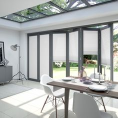 Blinds for bifold and patio doors - THE CURTAIN GURU