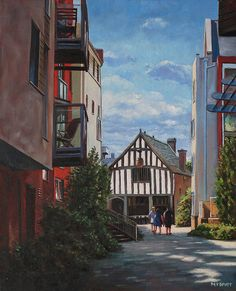 Southampton Medieval Merchant House From High St © Martin Davey