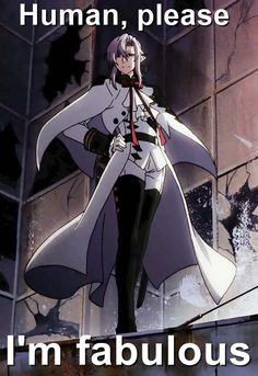 Owari no Seraph | Seraph of the End: Vampire Reign | Ferid Bathory | Anime | Fanart | Sailormeowmeow