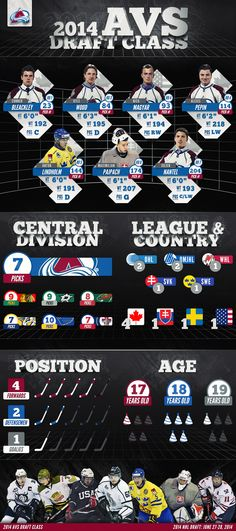 2014 Avs Draft Infographic - Colorado Avalanche - Multimedia
