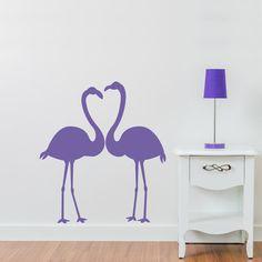 Wall Decals Nursery Birds Sticker Flamingo Decal by DecalHouse