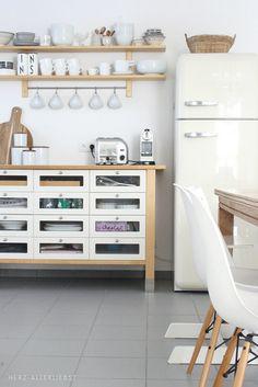 kitchen + dining // storage