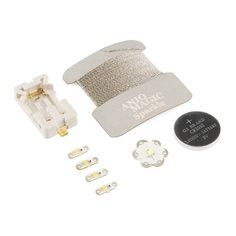 Aniomagic Sparkle Kit - SUCH a cool idea!    Especially for people who want to make e-textiles but don't necessarily want to do full-on programming yet.