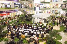 Presentación de la Orquesta Filarmónica de Medellín en el coctel de lanzamiento a medios de comunicación de La Tienda Vacía