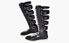 High snob's top 5 most beautifully ugly sneaker - Puma First Round Boot First Round, Sneaker Boots, Creative Inspiration, Combat Boots, Detail, Sneakers, Top, Life, Beauty