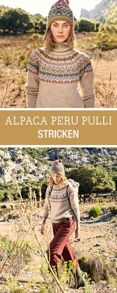 Knitting Patterns Pullover Free instructions: knit sweater with Norwegian pattern and turtleneck, alpaca wool / knitting a . Male Sweaters, Cheap Sweaters, Cashmere Sweaters, Sweaters For Women, Fair Isle Pullover, Loom Knitting Projects, Fair Isle Pattern, Sweater Knitting Patterns, Crochet Patterns