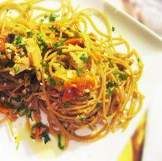 Spaghetti integrali croccanti