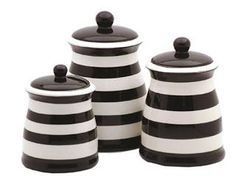 Goth Shopaholic: Goth-Friendly Canisters for Kitchen Storage