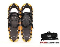 New MTN Man Woman Kid Youth 25 Gold Snowshoes up to 200 lbs Free Bag * You can find more details by visiting the image link. This is an Amazon Affiliate links.