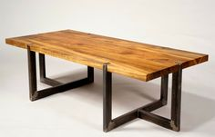 Brian Chilton's Rustic Modern Furniture | 2Modern Blog