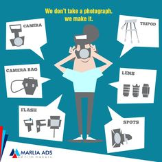 Pictures attract more than words. Tempt your customers to use your product or service with high-end photography service from Marlia Ads.  #Think #Different #MarliaAds #AdFilms #CorporateFilms #Animation #PhotoShoot