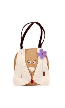 "#bags #borse #handmade #artigianali #felt #feltro #dog #pet #shopper Borsa in feltro ""Cagnolina"""
