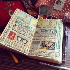 This Artist Keeps the Most Beautiful Sketchbooks I Have Ever Seen     «TwistedSifter