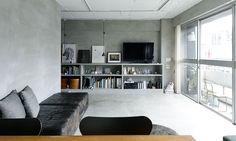 築50年のマンションをリノベスター猫と暮らすモダンでシンプルな空間   ToKoSie ー トコシエ