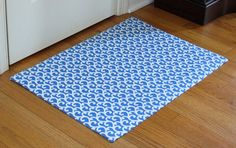 DIY rug    Been wanting a different shaped rug for the girls' rooms - this might just do the trick - I can cut it to look however I want.  That's awesome!