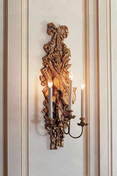 Beautiful French candle sconce