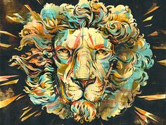 Oakley_lion_2 in Illustration