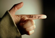 let it go finger tatoo Shooting Photo, Tumblr, Couple Tattoos, Finger Tattoos, Black And White Photography, Pastel Photography, Fashion Addict, Words Quotes, Tattoo Inspiration