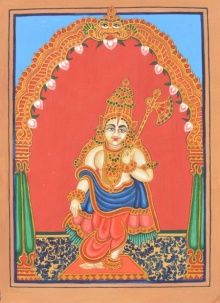 Parashurama Avatara traditional art by Radhika Ulluru | ArtZolo.com