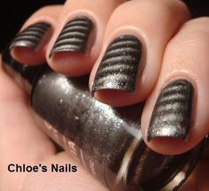 Essence Magnetic Metallics Polish in Steel Me Gel Manicure Nails, Gel Nail Art, Manicures, Metallic Nail Polish, Nail Polish Trends, Gorgeous Nails, Pretty Nails, Elite Nails, Glitter Fade Nails