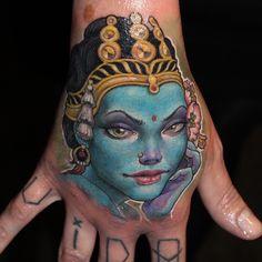 Done by Koan, tattoo artist at Family Art Tattoo Studio (Barcelona), Spain  TattooStage.com - Rate & review your tattoo artist. #tattoo #tattoos #ink