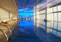 Most Beautiful Hotel Pools   The Ritz-Carlton - Hong Kong, China