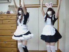 Aesthetic Japan, Japanese Aesthetic, Aesthetic Gif, Maid Outfit, Maid Dress, Look Man, Poses References, Maid Sama, Cybergoth
