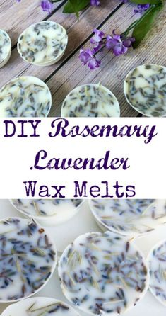Tip Tuesday: Rosemary Lavender Wax Melts These look amazing. Love the scents of rosemary and lavender together.These look amazing. Love the scents of rosemary and lavender together. Homemade Candles, Homemade Gifts, Scented Candles, Lavender Candles, Teen Homemade, Jar Candles, Natural Candles, Aromatherapy Candles, Lavender Scent