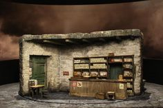 The Cripple of Inishmaan. (Broadway) Model. Designed by Christopher Oram.