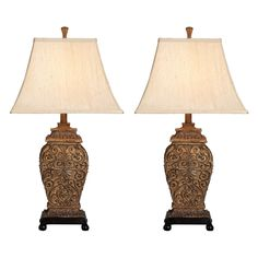 Have to have it. Aspire Home Accents Fallon Table Lamp Set