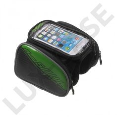 B-SOUL Sykkel bag med avtakbar bag for 4.2'' smarttelefon - Grønn - GRATIS FRAKT!