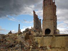 industrial heritage, Old Industrial - Mining site - Peñarroya, Andalucia, Spain