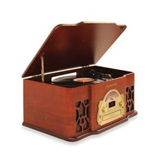 Electrohome Wellington Retro Music System- SO COOL, I NEED SOMETHING THAT PLAYS RECORDS