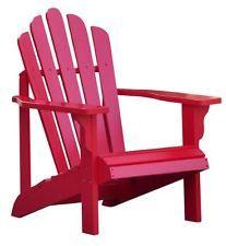 Shine Company 4611TR Westport Cadeira Adirondack-Novo Vermelho Tomate