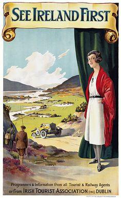 See Ireland First. Irish Tourist Association