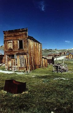 """Great history here...""""By God!  I'm going to Bodie!""""  or  """"Bye God.  I'm going to Bodie!""""  Wear your walking shoes. (No food or drink here...bring your own!)"""
