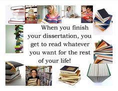 When you finish your dissertation... I can't wait for this! I have tons of books to catch up on!