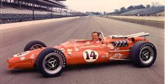 I love the relative simplicity of the Indy cars from the 1960s.