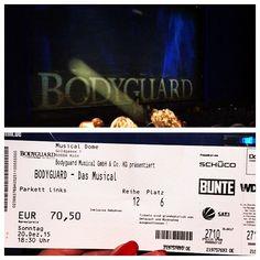 #bodyguardmusical #cologne #amazingshow #idrugiput #musicanddancing #life  by crnanatalie #haxenhaus #people #food