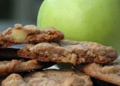 Galletas saludables de canela y manzana