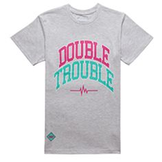 DT2 Tee Grey Tees, Double Trouble, Mens Tops, T Shirt, Shopping, Clothes, Star, Fashion, Twins
