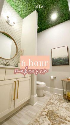 Modern Bathroom Design, Bathroom Interior Design, Room Ideas Bedroom, Bedroom Decor, Home Room Design, House Design, Diy Home Repair, Diy Home Improvement, House Rooms