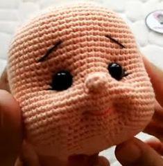 Best 11 Amazing and very Cute Crochet Amigurumi Pattern Ideas for 2019 Part amigurumi pattern free; Crochet Dolls Free Patterns, Crochet Doll Pattern, Crochet Patterns Amigurumi, Baby Knitting Patterns, Amigurumi Doll, Amigurumi Tutorial, Crochet Eyes, Crochet Bunny, Cute Crochet