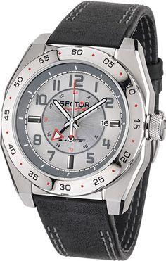 Indossa un orologio da polso SECTOR se vuoi essere sportivo, da uomo di tipo solo tempo, con movimento al quarzo e bracciale in pelle. Prodotto disponibile!