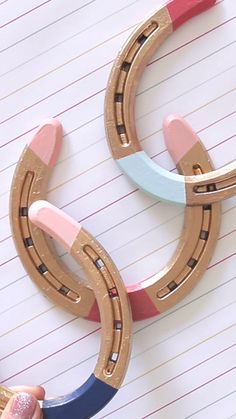 Painted Horseshoes