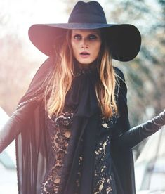 The Muse Magazine Saint Laurent Photoshoot is Country Yet Chic #festivalstyle #bohemian trendhunter.com