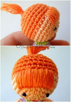 Amigurumi Doll Hair I ❥ 4U // hf