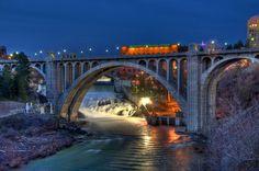 pictures of spokane | spokane-washington-bridge