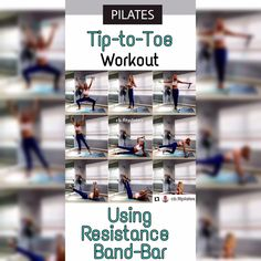 Have Pilates your Way. ❤️ Perform dozens of gym-quality exercises practically anywhere with the simple snap-together bar and easy-quick-to-adjust resistance band to customize your Yoga, Pilates, stretching, or toning workouts. Have a relaxing and enjoyable workout experience same as her with this amazing Flexies Pilates Bar.💫 #ad Pilates Workout Videos, Toning Workouts, Exercises, Strength Training, Stretching, Health Fitness, Challenges, Yoga, Gym
