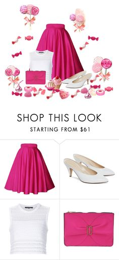 """A trip to the ' Candy Shop '"" by cardigurl ❤ liked on Polyvore featuring Thakoon, Leghilà and Judith Leiber"